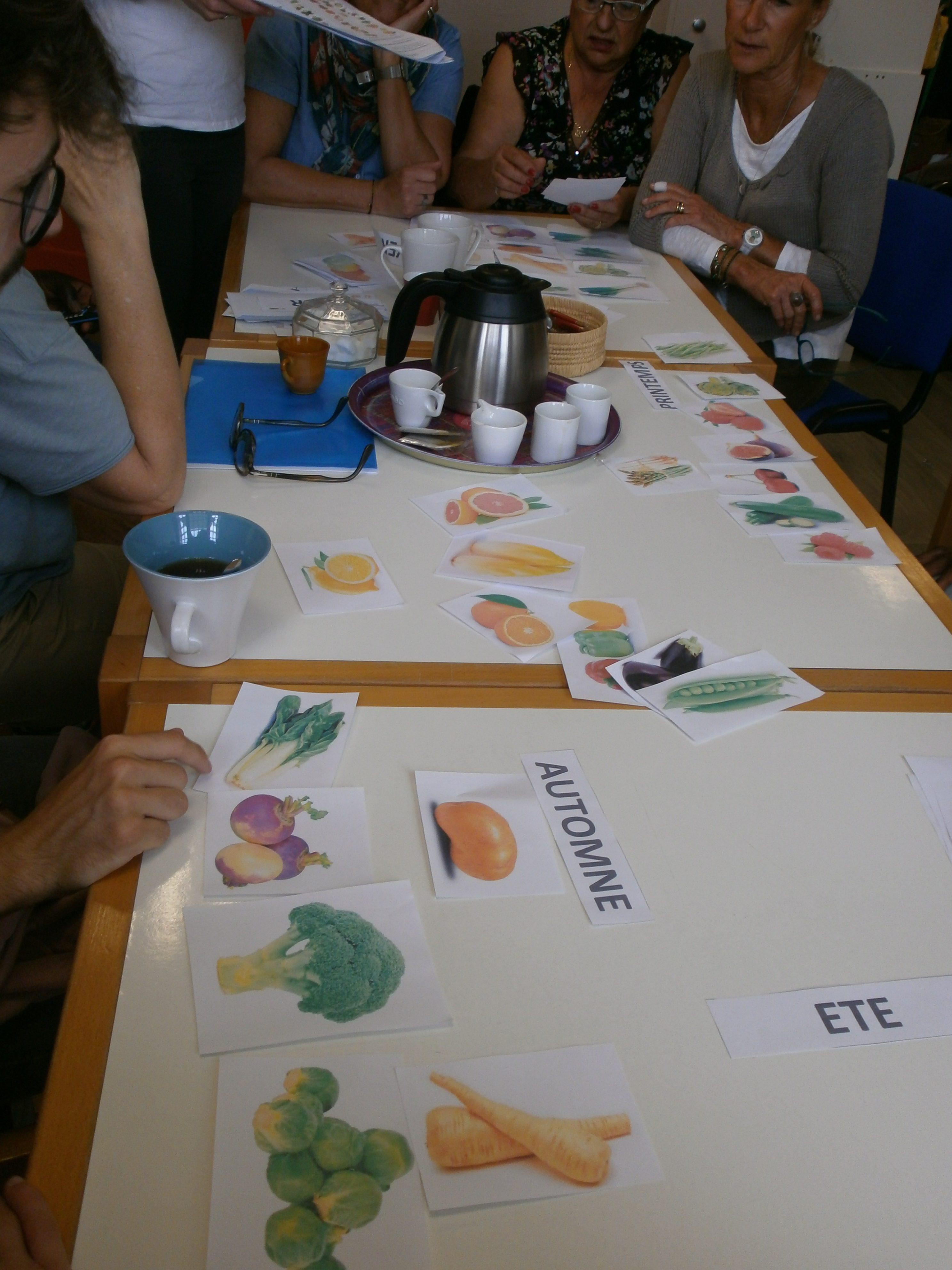 Classer les fruits et légumes selon les saisons