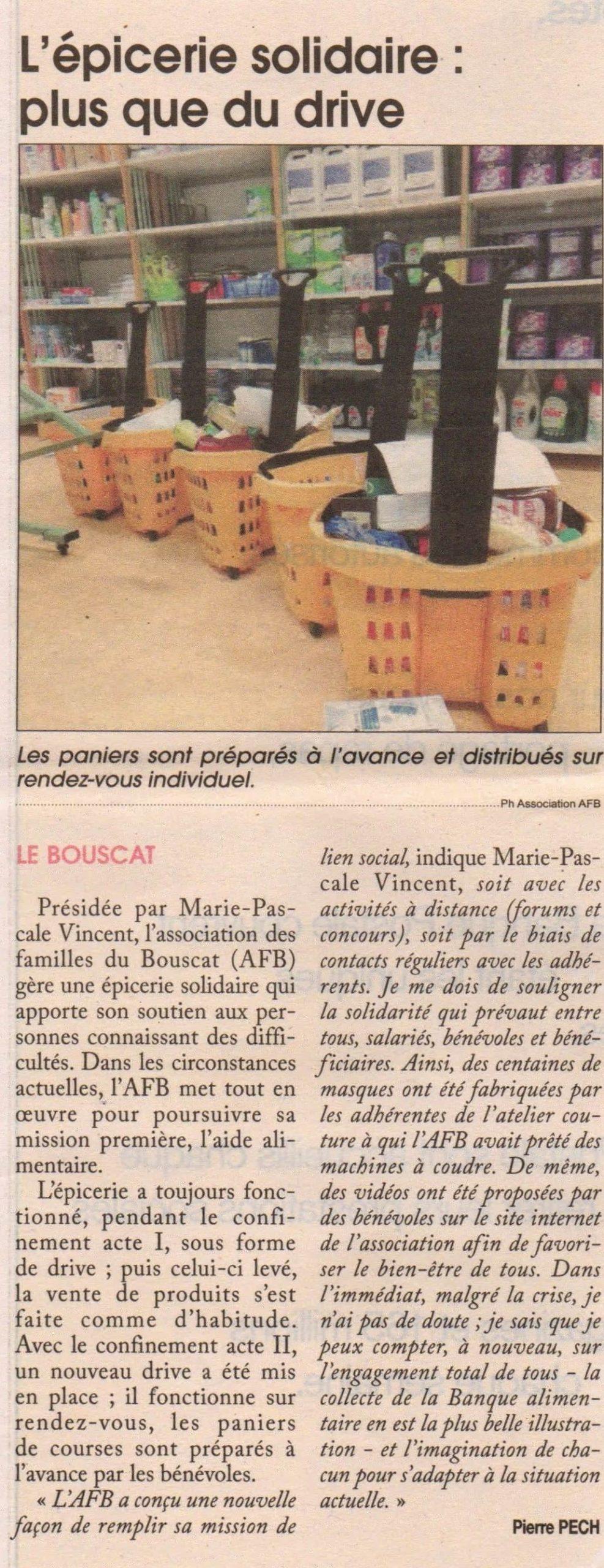 Article / Courrier de Gironde