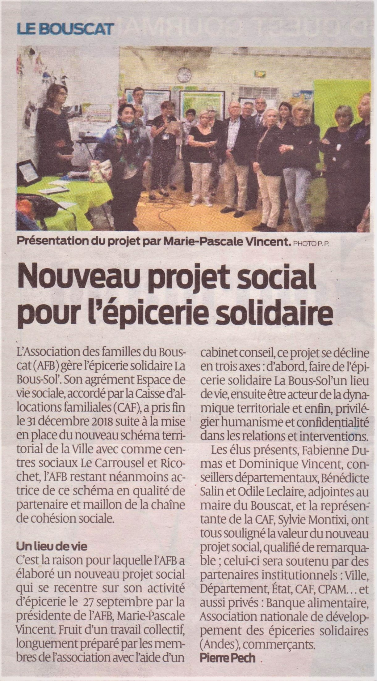 Article / Journal du SUD OUEST