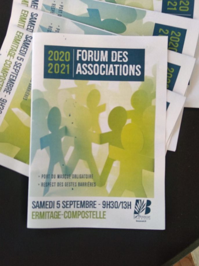 Forum des Associations Samedi 5 septembre 2020