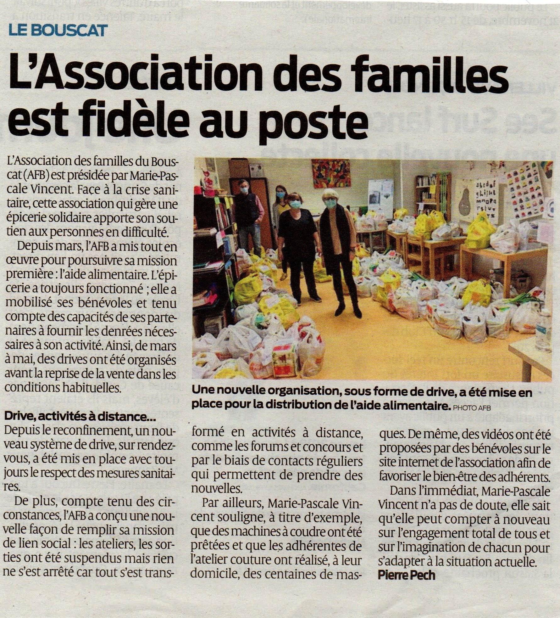 Article / Journal du SUD OUEST