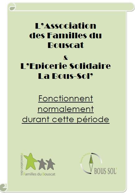 L'Association des Familles du Bouscat durant cette période