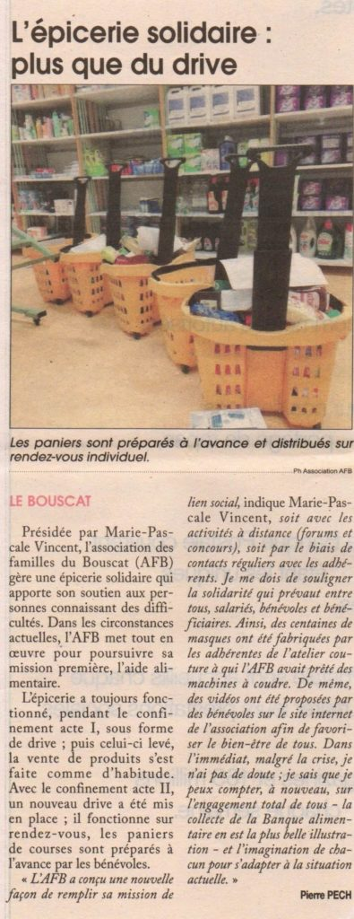 Article / Courrier de Gironde
